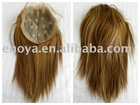 "Indian hair top closure 7.5""X9"""