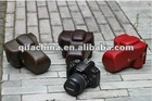 leather case bag for Canon D-SLR 500D 550D 450D 350D camera