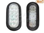 Back-up Light, 6'' Oval LED (led back light)