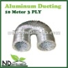 ALUMINUM FLEXIBLE SILVER DUCT VENTILATION DUCTING 10 METER