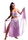 bellydance silk veil costume tops