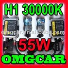 HID XENON conversion Kit 55w H1 30000K Single beam