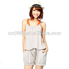 Latest apparel cheap casual women jumpsuits