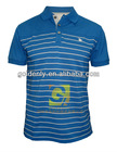 Mens yarn dyed cotton polo t shirt