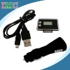 4 in 1 FM Transmitter & Car Charger Adapter&USB Line&Remote for iPhone/iPod (IMC-FAIP-0928)