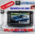 Dual Core 1080P 3G WIFI Car Radio GPS for VW Golf 5 6 Polo Passat CC Jetta Tiguan Touran Sharan Eos amarok Transporter T5 seat