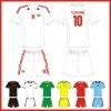 sublimation wholesale football shirt