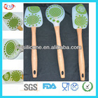 Eco Silicone Houseware Spatula Printed Tango Set Of 3pcs