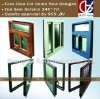 aluminum sliding window with glass, hardware