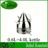 0.6L stainless steel teapot