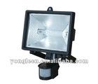 500w halogen lamp with motion sensor