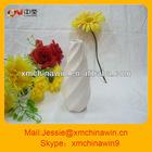 White ceramic decor flower vase