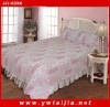 hotsale texture soft 100%cotton bedding set--3PCS