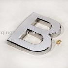 Moulded 3D Chromed Letter
