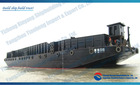 steel deck barge