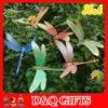 plastic dragonfly garden stake