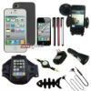 10 in 1 complete accessories items bundles for iphone 4 4s