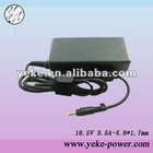 OEM laptop adapter for HP 18.5V 3.5A 4.8*1.7mm
