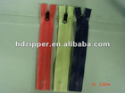 5# waterproof closed end with various colors