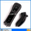 for WII Remote MotionPlus and Nunchuk Controller with Case for Wii (black)