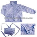 foldable backpack nylon kids windbreaker