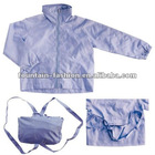 foldable backpack nylon kids windbreaker