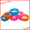 Best Quality wholesales promotional customized chian custom silicone rubber bracelet