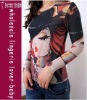 New Arrival Printed Beauty Girl Long Tatoo Shirt