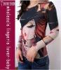 New Arrival Printed Beauty Girl Long Tatoo Shirt