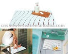 Foot massage function bath mats