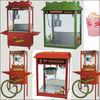 Popular low price factory hot selling popcorn machine