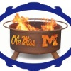 outdoor Ole Miss fire stoves