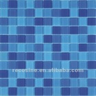Crystal glass mosaic mix marble,ceramic and shell mosaic tiles series