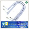 custom telephone spiral cable 7*0.12white 4C/6C/8C PVC