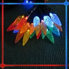 Christmas LED solar string light,christmas decorative light