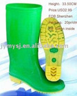 rain boot/rubber rain boots/footwear boot