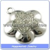 2010 316L Fashion stainless steel jewelry pendant(P1007)