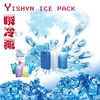 HDPE insulated ice pack for cold storage