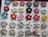 Fabric flower brooches BR1520