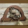wood wall hooks coat rack