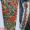 T10 Fake Tattoo Sleeve Temporary Body Arm Stockings Fashion Accessories