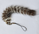 Genuine Mink Fur Mobile Phone Chain