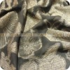 yarn dyed silk fabric with Aluminum(black)