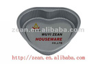 Non stick heart shape bakeware