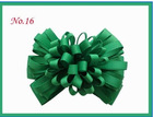 "Curly ribbon Hair Bow Clips - Medium 3"" - Choose Your Color"