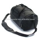Men's women's unisex U Zipper Top for Ez Access sports duffel bag gym bag black