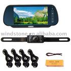 Car bluetooth Monitor/7 Inch TFT Monitor+bluetooth Video Park Sensor+ Backup Camera