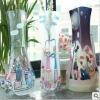 Reusable plastic foldable flower vase