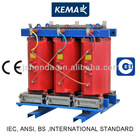 Low loss epoxy resin cast dry type transformer with 6kv 6.6kv 11kv 33kv 35kv