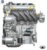 1.3L VVT petrol car engine GW4G13